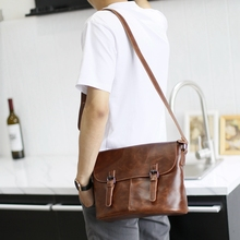 Buy Xiao.P Brand Bag Men Messenger Bags Crossbody Men Shoulder Bags Business Mens Bag Man Shoulder Vintage PU Leather Satchel for $23.88 in AliExpress store