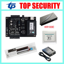 Cheapest biometric RFID card time attendance and access control system zk C3-100 tcp/ip door lock door access control board