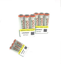 8pcs/lot original GP aaa rechargeable battery 1100mah / gp 1100 / rechargeable battery gp batteries 1.2V Ni-MH + Free shipping(China)