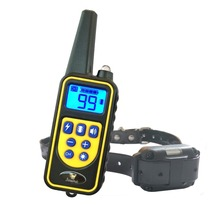 JANPET Electronic Dog Shock Collar Range 800M Remote Dog Training Collars with Vibration/Shock/Sound/Light(China)