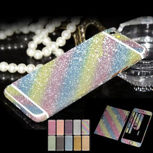 For iPhone 6 6s 4.7'' Cell Phone Decor Full Body Sticker Fashion Luxury Diamond Super Bling New