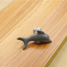 Creative Bird Bear Fish Ceramic Door Knobs Cabinet Drawer Cupboard Children's Room Knob  Pull Handle Home Hardware Parts