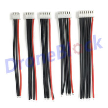 5Pcs / a lot 2s 3s 4s 5s 6s LiPo Battery Balance Charger Plug Line/Wire/Connector 22AWG 100mm JST-XH Balancer cable