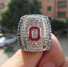 Free Shipping 2014  2015 Big Ten Ohio State Buckeyes football Championship Ring Custom men Ring high quality fan gift wholesalse