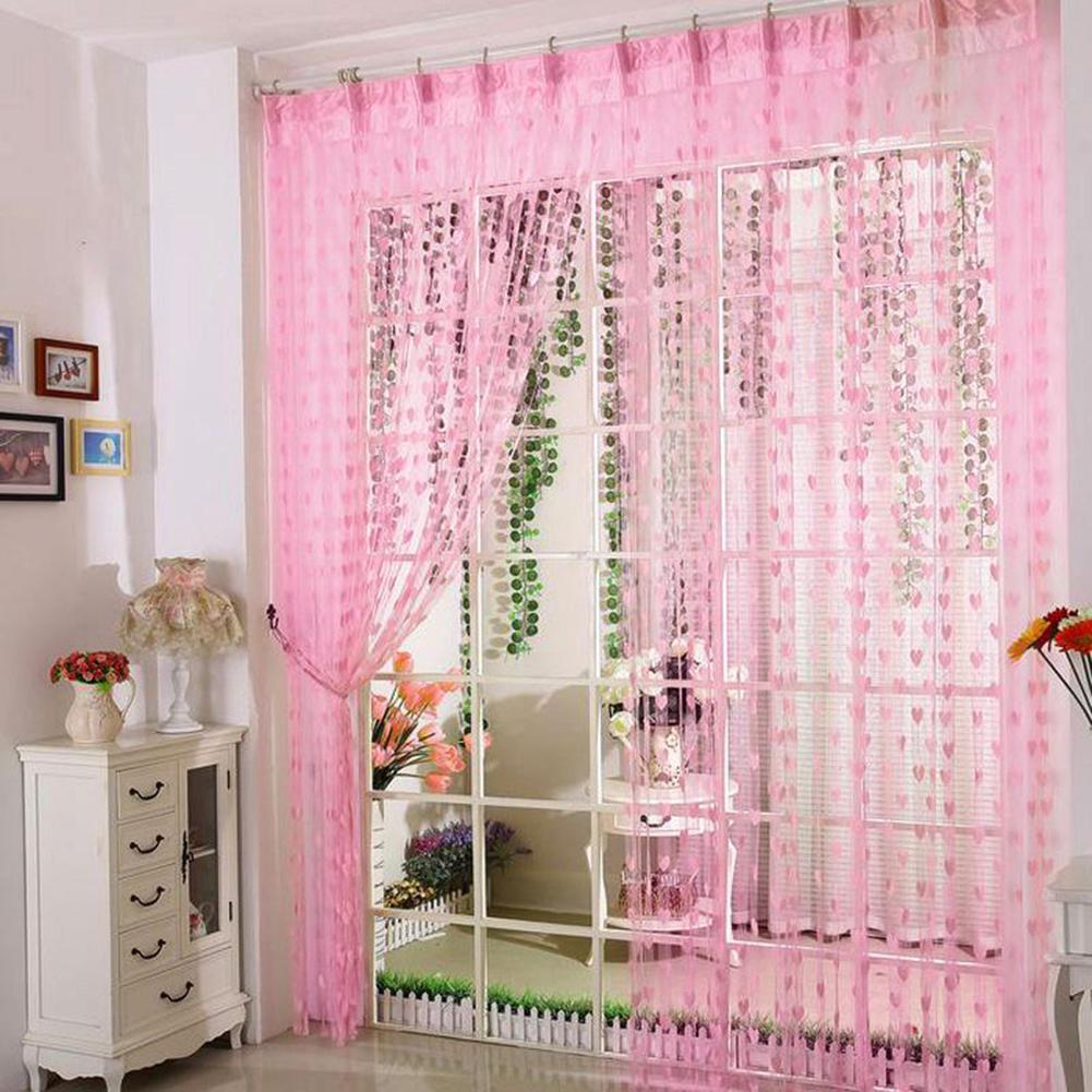 Curtain String Heart-Line Living-Room Romantic for Bedroom 100--200cm title=