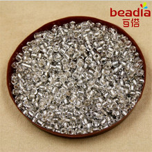 New Arrival! 40g/lot 4mm Czech Glass Seed Beads Crystal Loose Spacer Beads with Silver Lining for Jewelry Making Supplies