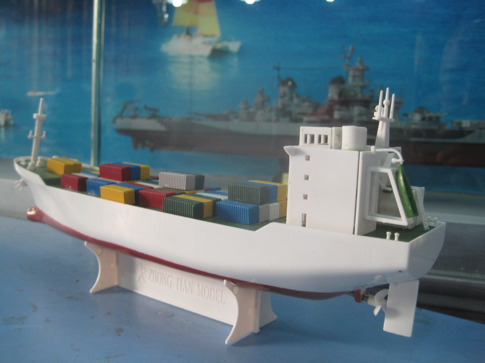 Игрушечный пароход своими руками