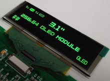 NoEnName_Null 3.1 inch 30PIN Green OLED Display Screen SSD1322 Drive IC 256*64(China)