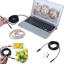 2/5m Mirco USB Android OTG USB Endoscope Camera Waterproof Snake Tube Pipe Android USB Borescope Camera(China)