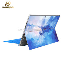 Mimiatrend Hot Sale Super Slim Skin Blue Diamond Laptop Decal Sticker Case For Microsoft Surface RT2 Guard Protective Cover Skin(China)