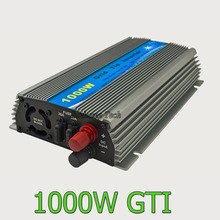1000W Grid Tie Inverter DC20V-45V to AC110V  220V  24V/30V/36V For 60cells/72cells Panel
