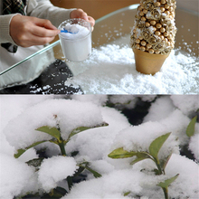 500g New Year Christmas Tree Decorations Instant Xmas Magic Snow Powder Winter Decor For Home Artificial Snow Scene Navidad(China)