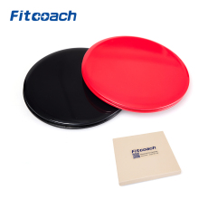 Gliding Discs Core Sliders. Dual Sided Use on Carpet or Hardwood Floors. Abdominal Exercise Equipment(China)