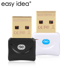 EASYIDEA Wireless USB Bluetooth Adapter 4.0 Mini Bluetooth Dongle CSR 4.0 Bluetooth Transmitter 3Mbps 20M Windows 10/8/7/XP(China)