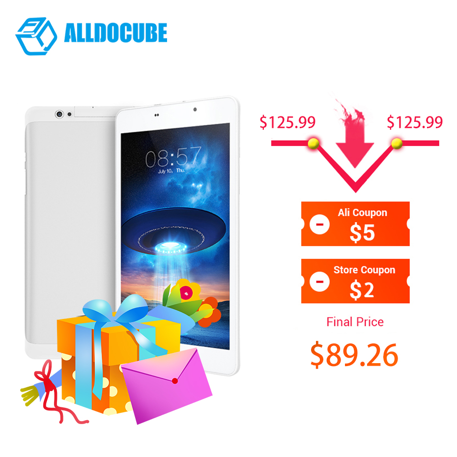 "Alldocube T8 Ultimate Plus Tablet Pc 8 "" Inch Tablets Android 4g Phone Call Tablette Kids Tablet Mtk8783 Octa Phablet Francais(China)"