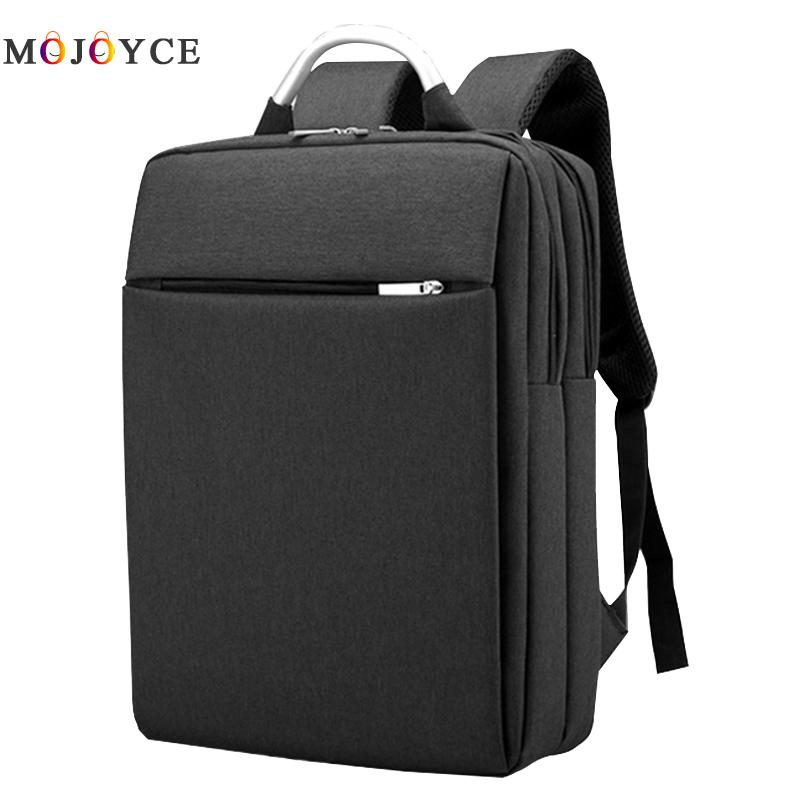 Men Oxford Backpack Casual Business Shoulder Bags 14in Laptop Bag  Leisure Brand Man Bag For iPad<br>