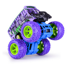 New 4X4 cross-country big foot car single layer bus alloy car model inertial children toy car for kids Birthday festival gift(China)