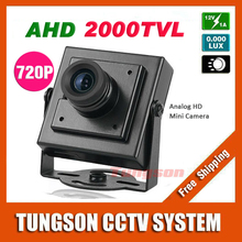 NEW Product 2000TVL AHD Security Mini 1MP 1280*720P Video Surveillance Micro CCTV Camera Free Shipping