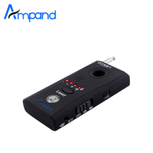 Ampand CC308 Wireless FNR Full-frequency Detector GSM Device Finder Hidden Cam Laser Lens RF Signal Detector(China)