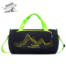 Buy Waterproof Nylon Outdoor Travel Men&Women Gym Bags Free Large Capacity Fitness Duffle Sports Yoga Bag for $13.03 in AliExpress store