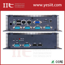 Intel Atom N2600 dual core fanless embedded industrial pc