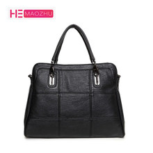0c2f63c41559 HEMAOZHU 2018 Fashion Famous Brand Designer Genuine Leather Women Handbag  Bag Ladies Satchel Messenger Tote Bags