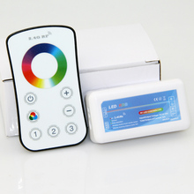 2.4G RF Mini Wireless Remote Controlle 18A for 12V/24V RGB led strip light on bus luxurious liner and hotel(China)