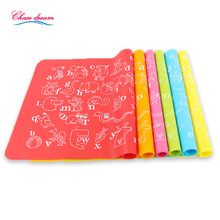 30*40cm Silicone Place Mats Heat Resistant Non Slip Table Mat Kids baby Home Kitchen Dining Placemat Fashion(China)