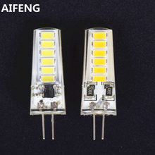 AIFENG 10PCS G4 Led Bulb Light DC 12V Lamp 3W 1.5W Wam/ Natural White DC Led 12V G4 5730(5733) SMD For Home Replace Halogen Lamp(China)