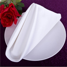 Luxury hotels Gaomi cotton napkin red cotton cloth to wipe your mouth with a scarf to spend more Western fold