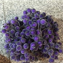 40Pcs/lot Mini Fake Fruit Small Berries Artificial Flower cherry Stamen Wedding Home Christmas Decorative 75Z
