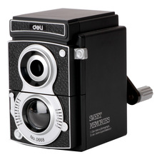 sweet memories deli 0668 vintage camera pencil sharpener hand sharpener gift old black camera mechanical pencil sharpener