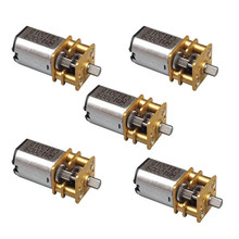 1Pc 3-6V DC Small Micro Metal Geared Box Electric Motor High Quality DIY VE508 P0.11(China)