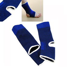 SZ-LGFM-Blue Elastic Neoprene Ankle Support Feet Protector Brace Sport Sock Unisex(China)