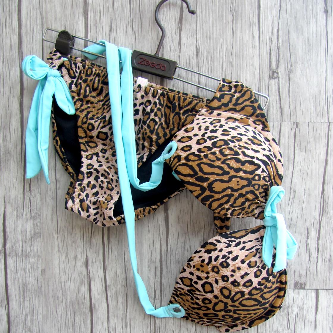 Women Bikini leopard Bathing suits UNDERWIRE Maillot de bain Low Waist Designs Secret Swimwear Sexy biqini<br><br>Aliexpress