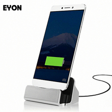 EYON Type-C Dock USB 3.1 Charge Cradle Docking Station For Xiaomi Mi5S OnePlus 3 Nexus 5X/6P Huawei P9 Mate 9 for iPhone 6S 7 8(China)