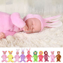 Animal Silicone Baby Doll Singing Simulated Babies Sleeping Reborn Dolls Children's electric Toys Birthday Gift For babies
