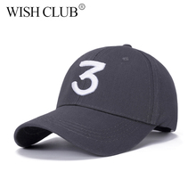 WISH CLUB Fashion Letter Embroidery Baseball Cap For Women Men Unisex Snapback Caps Bone Casquette Hat Sports Hip Pop Cap(China)