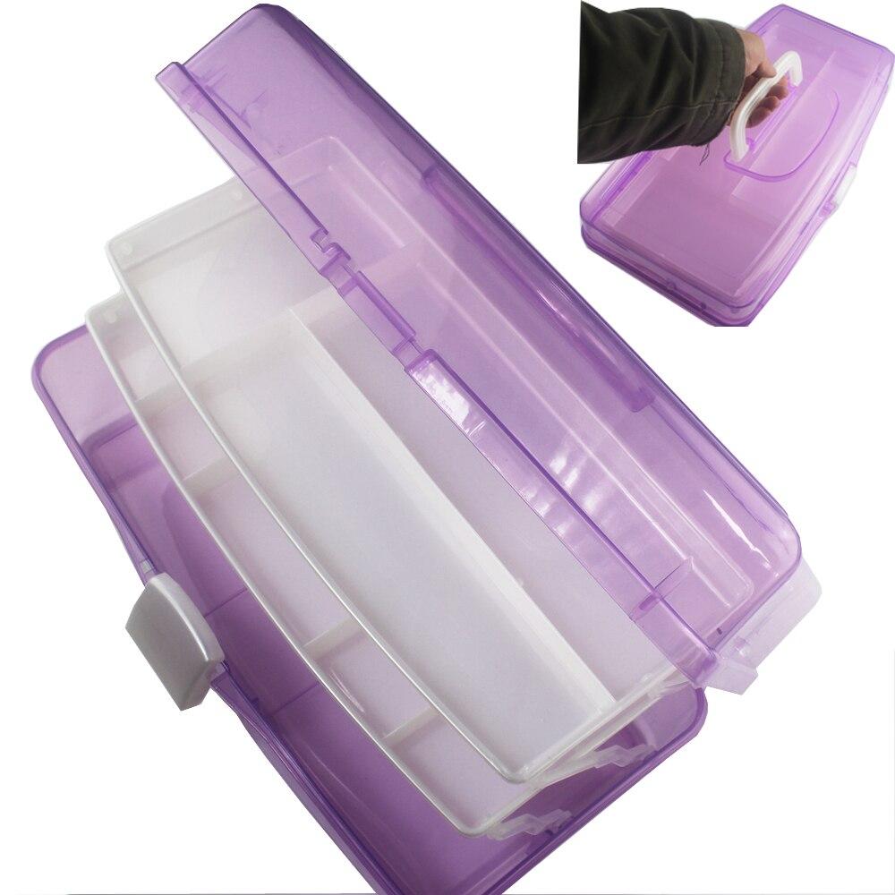 Nail Polish Rack Tools Manicura Box Unha Storage With Handle Herramientas Suitcase Maquiagem Caja Big Size 286B<br><br>Aliexpress