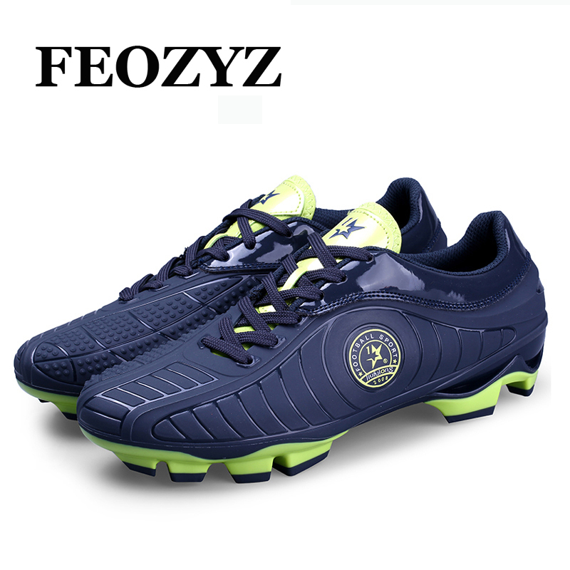 FEOZYZ AG FG Football Boots Men Football Match Sneakers Mens Soccer Shoes Cleats TPU Spike Scarpe Da Calcio Chaussure De Foot<br>