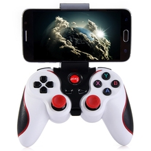 Smart Phone Game Controller Wireless Gamepad Joystick Bluetooth 3.0 Android Gaming Remote Control for Smartphone PC Tablet(China)