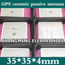 GPS ceramic passive antenna 35*35*4mm high-gain model aircraft robot NEO-M8N(working 100% Free Shipping)50PCS