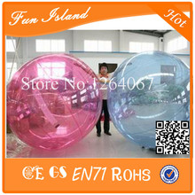 Good Price 2m Diameter Inflatable Human Hamster Ball,Water Walking Ball ,Zorb Ball For Sale