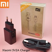 Original Xiaomi Redmi 4x Charger 5V2A EU Wall redmi 4x 5 plus Note 4x 5 plus Smartphone Charge Power Adapter Micro usb cable