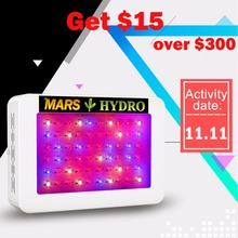 Mars Hydro LED Grow Light 300W, Full Spectrum Lamp ,Indoor Medical Plant Veg/Flower Hydroponic Planting Indoor Garden(China)