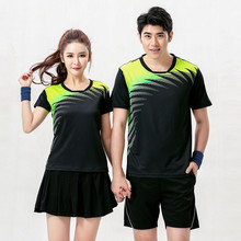 Adsmoney Tennis shirts Suits, breathable, clothes for men and women, clothing with Shirts shorts, fitness (shirts + shorts)