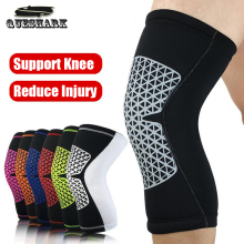 1Pc Basketball Knee Pads Cycling Running Leg Warmers Knee Support Brace Wrap Protector Football Sport Patella Guard Calf Sleeves(China)