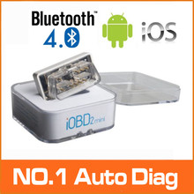 Newest XTOOL iOBD2 Mini OBD2 EOBD Scanner Support Bluetooth 4.0 For iOS And Android XTOOL OBDII Free Shipping