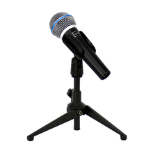 Professional Karaoke Microphone System Wired Vocal Handheld Dynamic Mic Stand For BETA 58A Sing Studio Instrument KTV Amplifier(China)