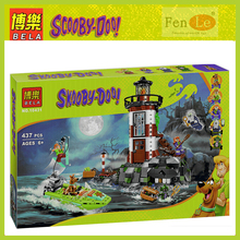 Bela 10431 Toys Haunted Lighthouse Scooby Doo Mummy Museum Compatible with lepin Building Blocks bricks Toys for children gift